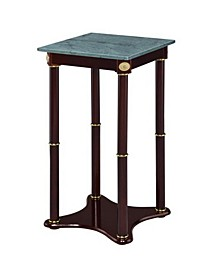 Ace Marble Top Plant Stand