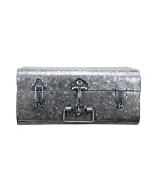 Hillard Medium Galvanized Silver Case