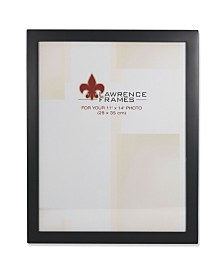 "Lawrence Frames Black Wood Picture Frame - 11"" x 14"""