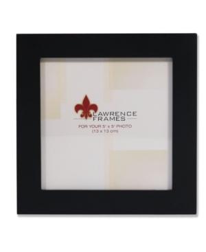 "Lawrence Frames Black Wood Picture Frame - 5"" x 5"""