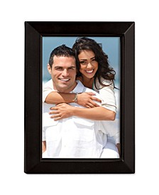 "Black Wood Picture Frame - Estero Collection - 5"" x 7"""