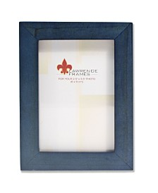 """Lawrence Frames Blue Wood Picture Frame - Gallery Collection - 2"""" x 3"""""""