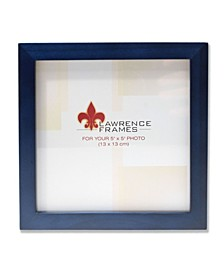 """Blue Wood Picture Frame - Gallery Collection - 5"""" x 5"""""""