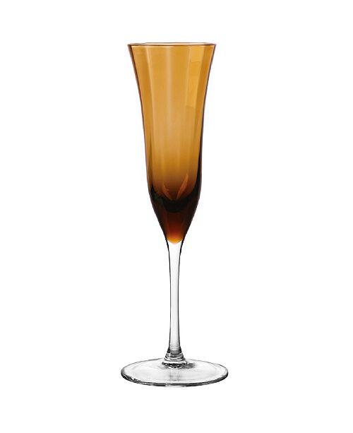 Qualia Glass Meridian Flutes, Set Of 4