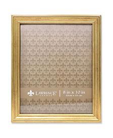 """Lawrence Frames Sutter Burnished Gold Picture Frame - 8"""" x 10"""""""