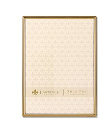 "Simply Gold Metal Picture Frame - 5"" x 7"""