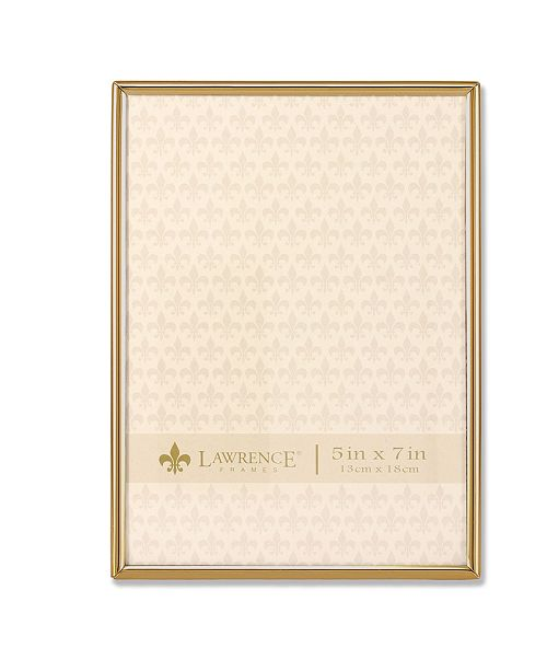 """Lawrence Frames Simply Gold Metal Picture Frame - 5"""" x 7"""""""