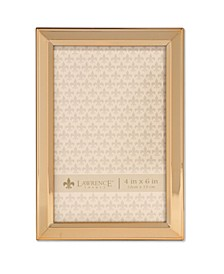 "Gold Metal Picture Frame - Classic Bevel - 4"" x 6"""