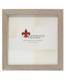 """Lawrence Frames Gray Wood Picture Frame - Gallery Collection - 5"""" x 5"""""""