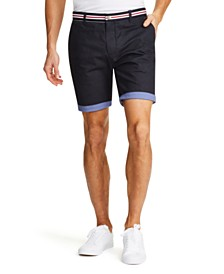 Tallia Men's Modern-Fit Stretch Paisley Shorts