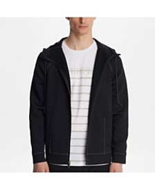 Karl Lagerfeld Paris Neoprene Track Jacket