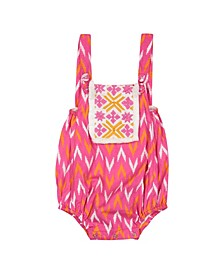 Baby Girls Beach One Piece Ikat Geo