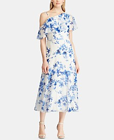 Lauren Ralph Lauren Floral-Print Georgette Dress