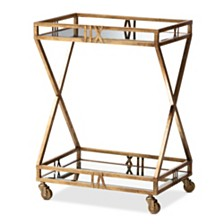 Laurent Bar Cart, Quick Ship