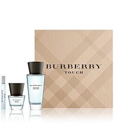 Burberry Men's 3-Pc. Touch For Men Eau de Toilette Gift Set