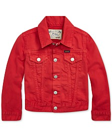 Polo Ralph Lauren Little Girls Cotton Denim Trucker Jacket