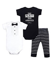 Bodysuit and Pants Set, 3 Piece Set