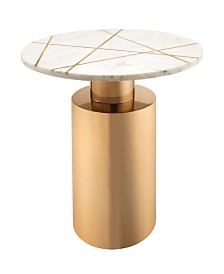 Terzo Marble Side Table