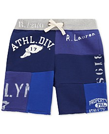 Polo Ralph Lauren Toddler Boys Twill Terry Graphic Shorts