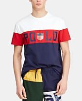 9df6c9701 Polo Ralph Lauren Men's Custom Slim Fit Graphic Chariots T-Shirt