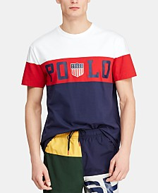 Polo Ralph Lauren Men's Custom Slim Fit Graphic Chariots T-Shirt