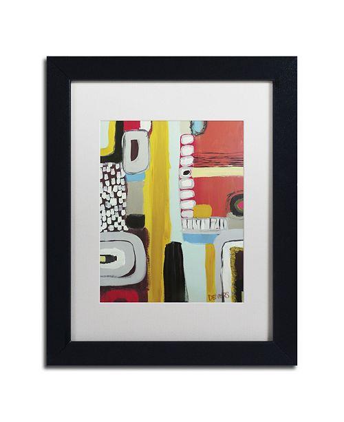 "Trademark Global Sylvie Demers 'Chemins' Matted Framed Art - 11"" x 14"" x 0.5"""