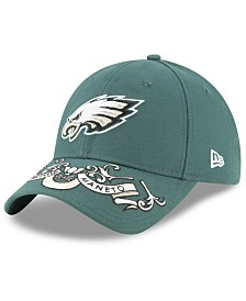 New Era Women's Philadelphia Eagles Draft 9TWENTY Strapback Cap
