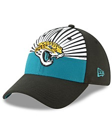 New Era Little Boys Jacksonville Jaguars Draft 39THIRTY Stretch Fitted Cap
