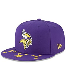 New Era Little Boys Minnesota Vikings Draft 9FIFTY Snapback Cap