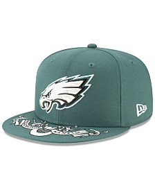 New Era Little Boys Philadelphia Eagles Draft 9FIFTY Snapback Cap