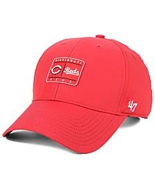 '47 Brand Cincinnati Reds Silicone Patch MVP Adjustable Cap