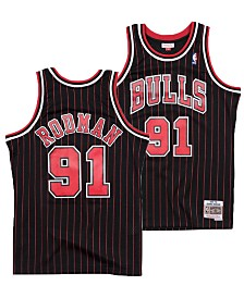 Mitchell & Ness Big Boys Dennis Rodman Chicago Bulls Hardwood Classic Swingman Jersey