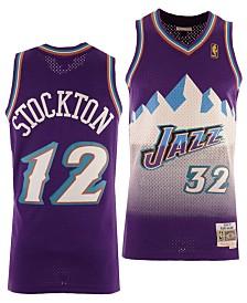 Mitchell & Ness Big Boys John Stockton Utah Jazz Hardwood Classic Swingman Jersey