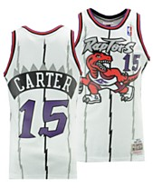 2d652b91 Mitchell & Ness Big Boys Vince Carter Toronto Raptors Hardwood Classic Swingman  Jersey