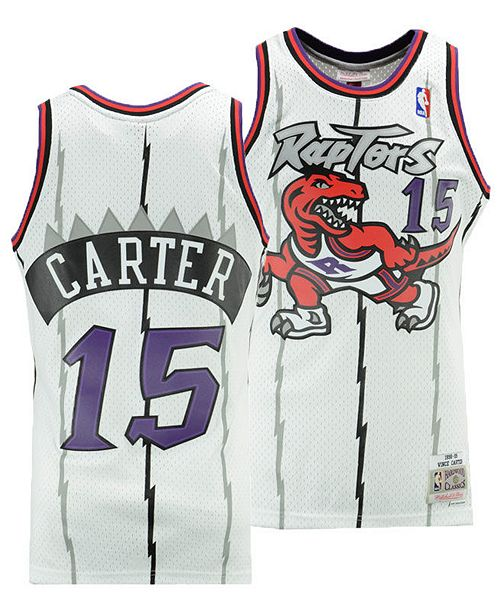 timeless design c85cc 804e3 Big Boys Vince Carter Toronto Raptors Hardwood Classic Swingman Jersey