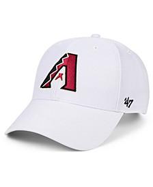Arizona Diamondbacks White MVP Cap