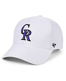 Colorado Rockies White MVP Cap