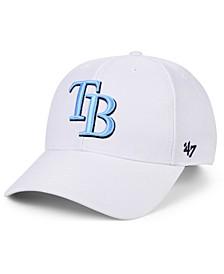 Tampa Bay Rays White MVP Cap