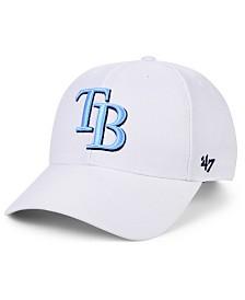 '47 Brand Tampa Bay Rays White MVP Cap