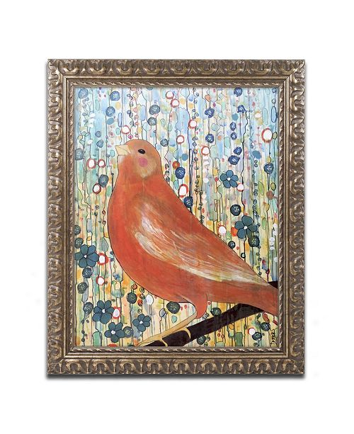 "Trademark Global Sylvie Demers 'Serenade' Ornate Framed Art - 14"" x 11"" x 0.5"""