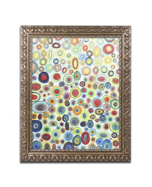 "Trademark Global Sylvie Demers 'Viva' Ornate Framed Art - 20"" x 16"" x 0.5"""