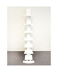 Proman Products Hancock Spine 7 Shelf Tower Bookcase