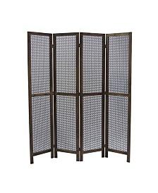 Proman Products Nova Folding Panel Divider Privacy Screen