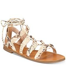 Jaeryan Flat Sandals