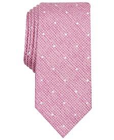 Bar III Men's Gregory Dot Skinny Tie, Created for Macy's