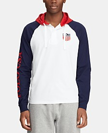 Polo Ralph Lauren Men's Hooded Rugby Chariots Shirt