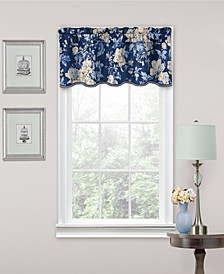 """Forever Yours 52"""" x 16"""" Scallop Valance"""