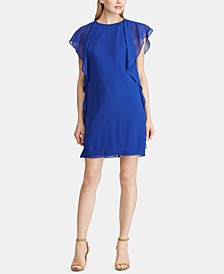 Ruffled Georgette Dress