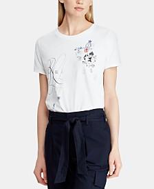 Lauren Ralph Lauren Embroidered T-Shirt