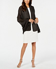INC Pleated Lightweight Evening Wrap, Created for Macy's